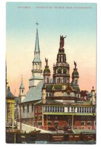 Bonsecours Church Quebec Montreal ca 1910 Postcard