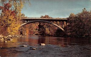 Connecticut~Cornwall Bridge~1976 Postcard