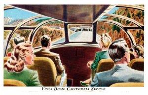 Dome California Zephyr  Interior
