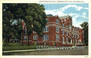 Admin Hall, Stephens College Columbia MO Unused