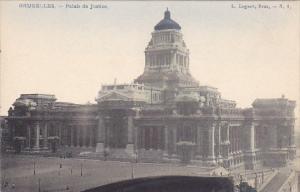 Belgium Brussels Palais de Justice