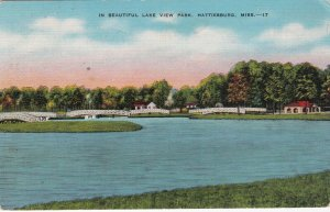 HATTIESBURG , Mississippi , 1930-40s ; Lake View Park