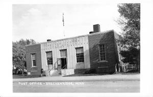 Breckenridge Minnesota~US Post Office~Door Propped Open~1960s Real Photo~RPPC