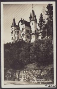 Semmering,Pension Silberschloss,Austria Postcard