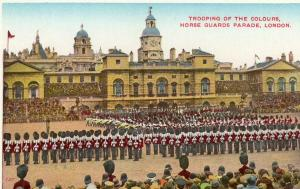 UK Trooping of the Colours horse guards parade London 01.54