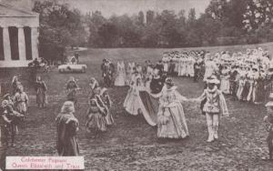 Colchester Pageant Queen Elizabeth Train Antique Postcard