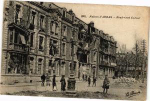 CPA Ruines d'ARRAS - Boulevard carnot (196797)