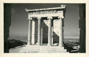 Greece Nike Temple RPPC