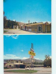 Unused Pre-1980 VIR–DAY MOTEL Montpelier Idaho ID M1131