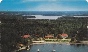 Braemar Lodge , Lake Ellenwood , near YARMOUTH , Nova Scotia , Canada , 50-60s