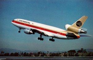 Continental Airlines McDonnell Douglas DC-10