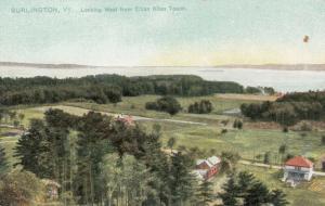 BURLINGTON, Vermont, 00-10s; Looking West from Ethan Allen Tower, TUCK # 5850