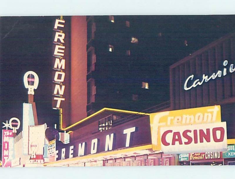 Pre-1980 FREMONT CASINO HOTEL Las Vegas Nevada NV G9864