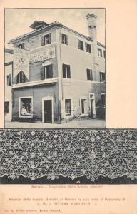 Burano Venice Italy scenic view Exposition building antique pc Z41423