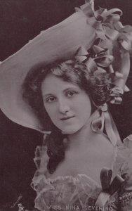 ACTRESS , Miss Nina Sevening , 1900-10s ; TUCK S 560