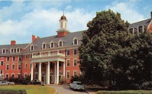 Blacksburg Virginia Polytechnic Institute Faculty Center~1950s N & W Railroad Pc
