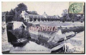 Old Postcard Chenonceaux The Castle Harbor