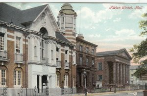 HULL , Yorkshire , England , 1900-10s ; Albion Street