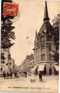 CPA MONTBÉLIARD - Rue Cuvier (183086)