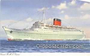 Cunard RMS Caronia  Ship Postcard Post Card Postcard Post Card Cunard RMS Car...