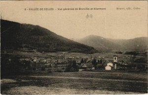 CPA Vallée DE CELLES - Vue générale (153798)