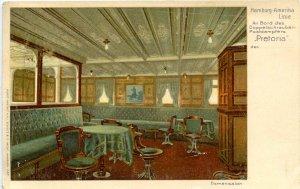 Hamburg-Amerika Line - SS Pretoria, Ladies' Salon