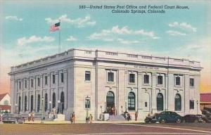 Colorado Colorado Springs United States Post Office And Federal Court House