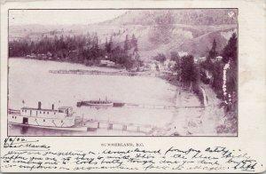 Summerland BC British Columbia Steamship c1906 Private Postcard G60