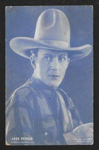 ARCADE CARD Cowboy Entertainer Jack Perrin