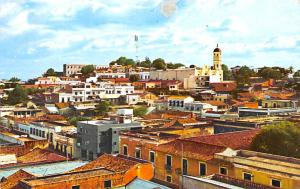 Venezuela Old Vintage Antique Post Card Ciudad Bolivar 1966