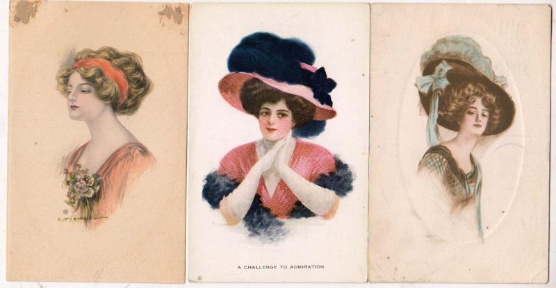 3 - Woman Cards