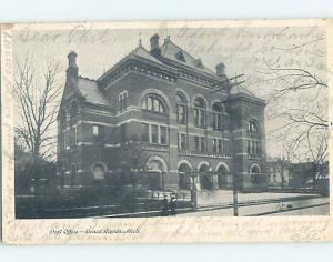 Pre-1907 POST OFFICE Grand Rapids Michigan MI A3592