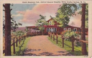 West Virginia White Sulphur Springs Kate's Mountain Club Ashford General Hosp...