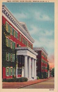 Historic Salem College Winston Salem North Carolina