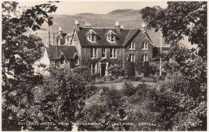 RP: Cuilfail Hotel from the gardens, KILMELFORD , Argyll , Scotland , 1930s