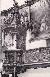RP: Cuzco , Peru , 1963 ; Pulpit of Saint Blasses
