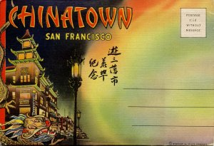 Folder - California. Chinatown, San Francisco      18 views + narrative