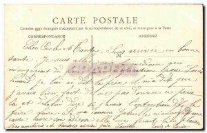 Old Postcard Flers Chateau La Grande Allee