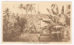 A Native Village (New Caledonia), 1910-30s