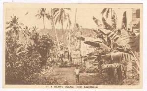 A Native Village (New Caledonia), 1910-30s