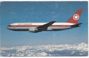 Airplane Jet- Air Canada, Boeing 767, PU-1984
