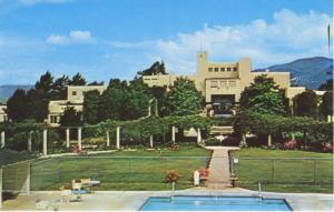 The Samarkand Santa Barbara CA California Life Care Residence Postcard D26