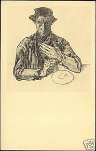 Dutch Symbolist JAN TOOROP - Apostle Simon