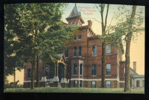 Burlington, Vermont/VT Postcard, Mary Fletcher Hospital