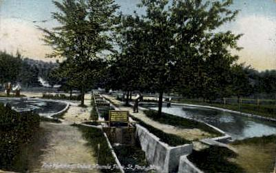 Fish Hatchery, Indian Mounds Park St  Paul MN 1912 / HipPostcard
