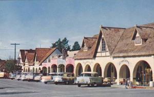 A View Along The Main Street, Copenhagen Drive, California,40-60s