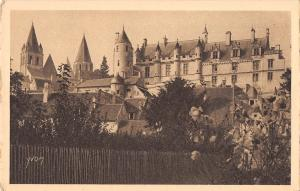 BF6568 chateau de loches france      France