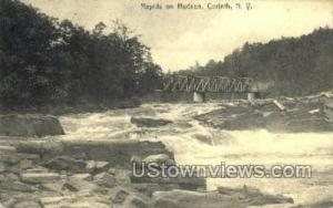 Hudson River Corinth NY 1908