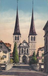 LUZERN , SWitzerland , 00-10s : Hofkirche