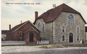 MOOSE JAW, Saskatchewan, 1900-10s; Baptist Church